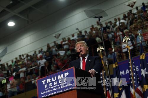 2016年美国大选:特朗普在犹他州领先希拉里 - ảnh 1