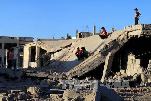 叙利亚军方实施为期7天的停火 - ảnh 1