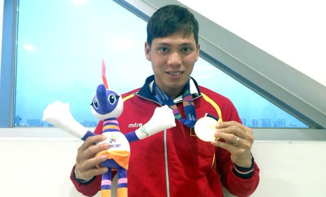 越南游泳运动员武清松夺得2016残奥会银牌 - ảnh 1