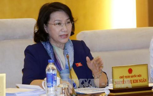 越南国会主席阮氏金银对柬埔寨进行正式友好访问 - ảnh 1