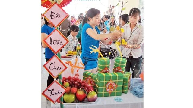 越南各地照顾贫困者过年 - ảnh 1