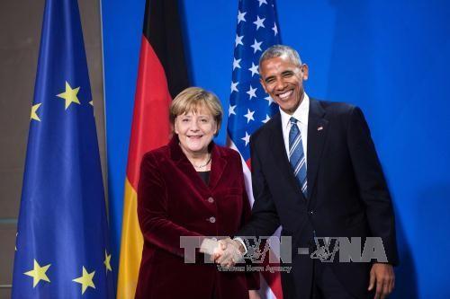 奥巴马与默克尔通电话 - ảnh 1