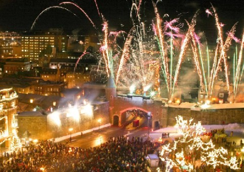 冬季之夜博览会在加拿大举行 - ảnh 1