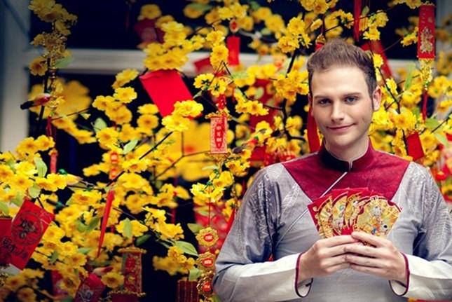 外国人迎接越南春节 - ảnh 2