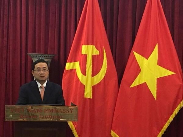 越南驻马来西亚大使馆纪念越南共产党成立87周年 - ảnh 1