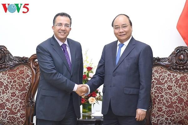 越南政府总理阮春福会见摩洛哥和东帝汶驻越大使 - ảnh 1