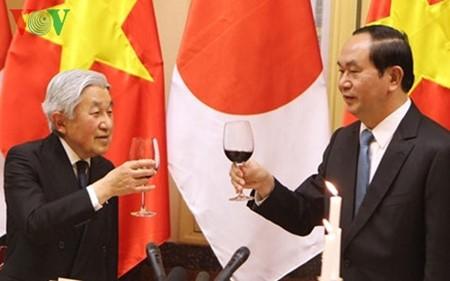 日本天皇与皇后设茶宴庆祝访越行程取得圆满成功 - ảnh 1