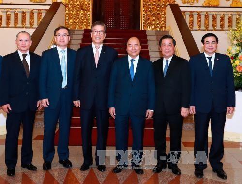 韩国产业银行希望为越南经济社会发展做出更多贡献 - ảnh 1