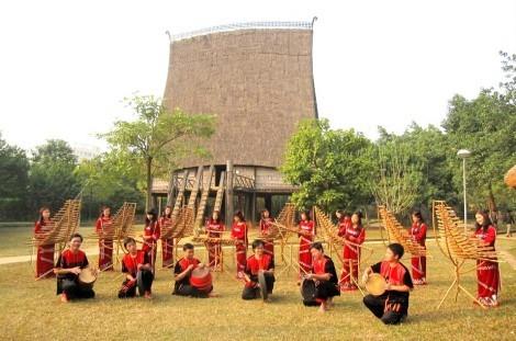 西原地区各族同胞的传统乐器——特龙琴 - ảnh 2