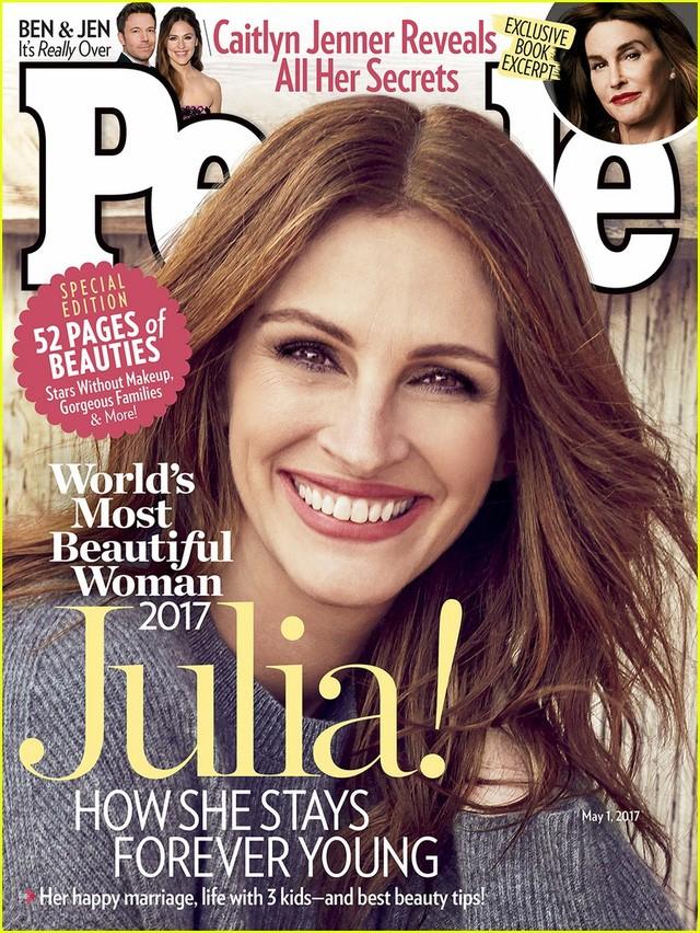 朱莉娅•罗伯茨第5次荣获全球最美女人称号 - ảnh 1