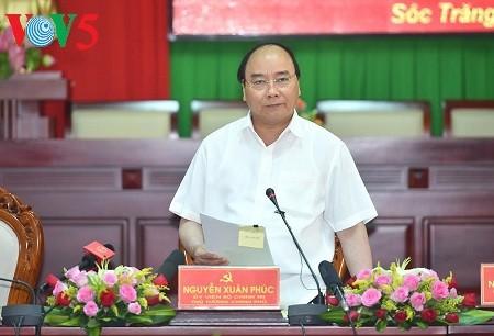 阮春福:朔庄省要集中扩大种植高产水稻和优势水果 - ảnh 1