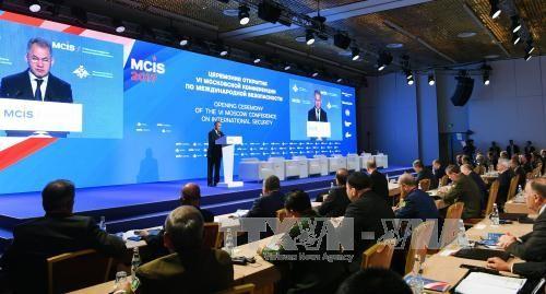 第六届莫斯科国际安全会议:俄罗斯与西方国家的开放关系有助于巩固欧洲安全 - ảnh 1