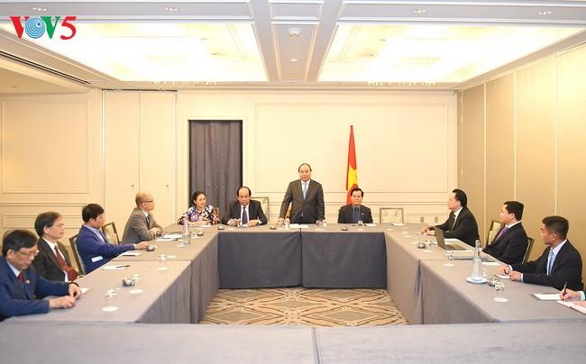 越南政府总理阮春福访美将促进双边合作 - ảnh 1