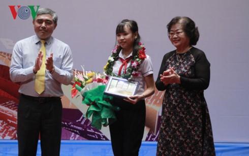 越南参加UPU国际少年书信写作比赛30周年曾13次获奖 - ảnh 1