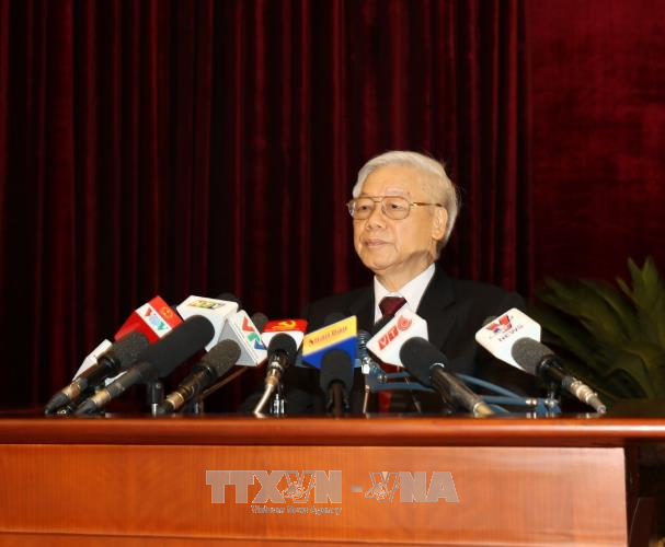 越共中央委员会高度一致通过越共十二届六中全会的各项决议和结论 - ảnh 1