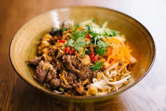 越南的南部牛肉米粉 - ảnh 1