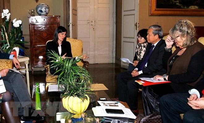 加强越南和意大利合作交流  推动双边关系不断升级 - ảnh 1