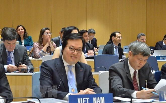 """越南主持""""信息与通信技术在促进经济、文化、社会权利,减少不平等中的作用""""国际座谈会 - ảnh 1"""
