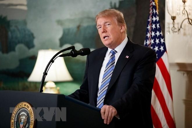 特朗普可能出席美国在耶路撒冷新使馆的开馆仪式 - ảnh 1