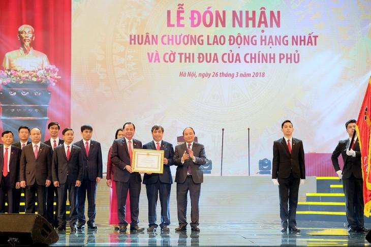 越南政府总理阮春福出席越南农业与农村发展银行成立30周年纪念仪式 - ảnh 1