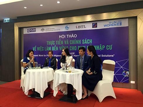 增加妇女移民可持续就业机会 - ảnh 1