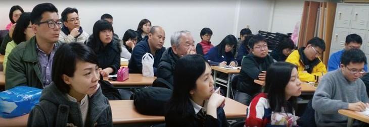 让越南语走进台湾社会的就谛学堂 - ảnh 3