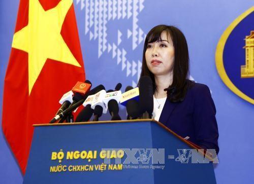 越南反对中国在黄沙群岛进行军演 - ảnh 1