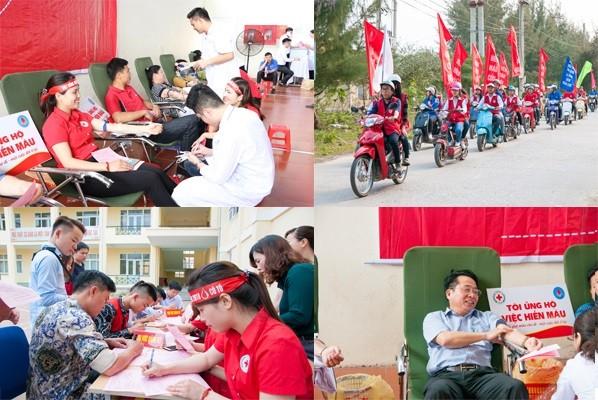 """越南各地举行""""2018年红色行程""""活动 - ảnh 1"""