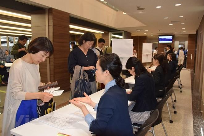第二次越语水平考试在日本举行 - ảnh 1