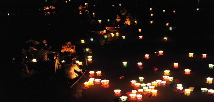 越南文化美中的会安花灯节 - ảnh 2