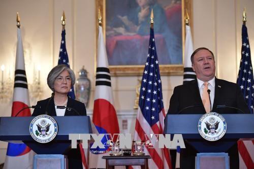 韩国呼吁美国在朝鲜半岛无核化中做出努力 - ảnh 1