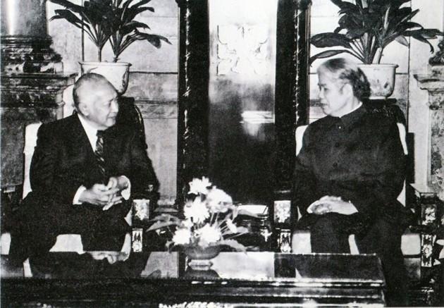 原越南共产党中央委员会总书记杜梅与世界多国领导人的资料图片 - ảnh 11