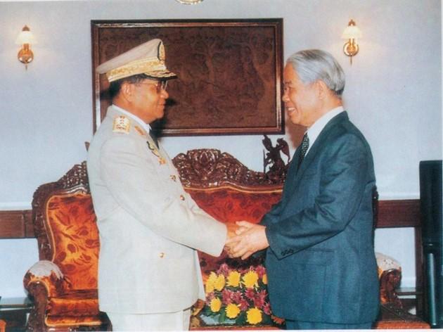 原越南共产党中央委员会总书记杜梅与世界多国领导人的资料图片 - ảnh 12