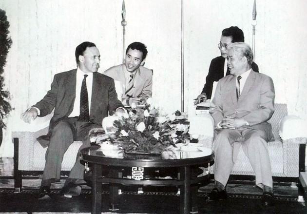 原越南共产党中央委员会总书记杜梅与世界多国领导人的资料图片 - ảnh 20