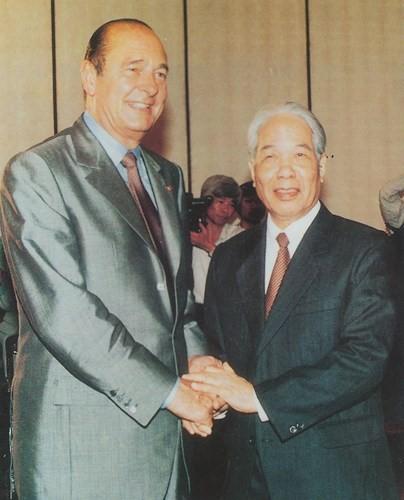 原越南共产党中央委员会总书记杜梅与世界多国领导人的资料图片 - ảnh 21