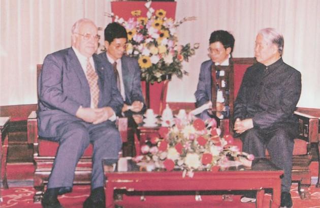 原越南共产党中央委员会总书记杜梅与世界多国领导人的资料图片 - ảnh 22
