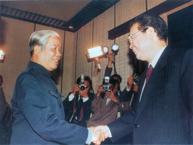 原越南共产党中央委员会总书记杜梅与世界多国领导人的资料图片 - ảnh 2