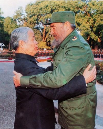 原越南共产党中央委员会总书记杜梅与世界多国领导人的资料图片 - ảnh 5