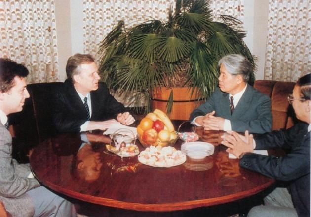原越南共产党中央委员会总书记杜梅与世界多国领导人的资料图片 - ảnh 7