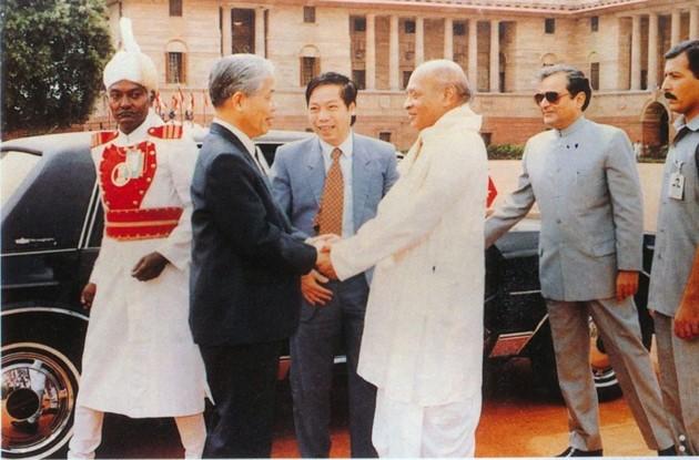 原越南共产党中央委员会总书记杜梅与世界多国领导人的资料图片 - ảnh 9