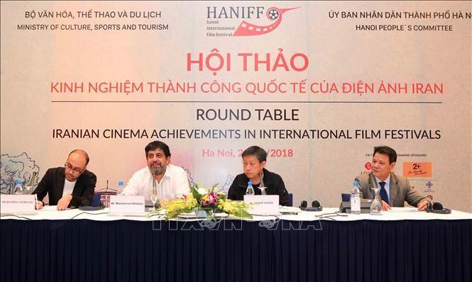 越南和伊朗分享电影业发展经验 - ảnh 1