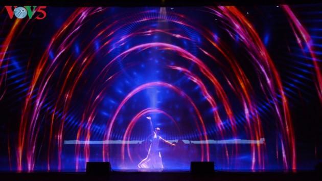 东北地区民族文化体育和旅游节开幕式全景 - ảnh 17