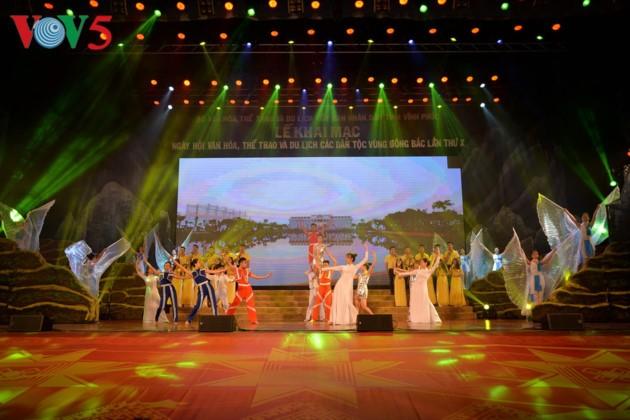 东北地区民族文化体育和旅游节开幕式全景 - ảnh 18