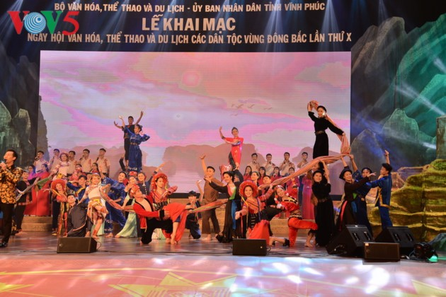 东北地区民族文化体育和旅游节开幕式全景 - ảnh 1