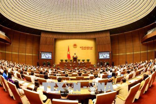 越南国会讨论《高等教育法》 - ảnh 1
