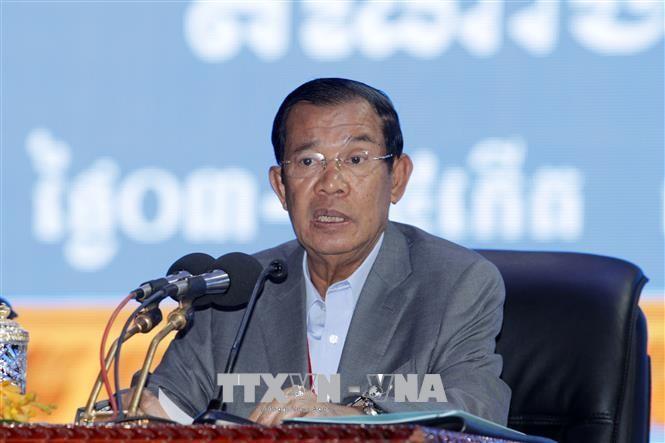 柬埔寨首相洪森开始对越南进行正式访问 - ảnh 1