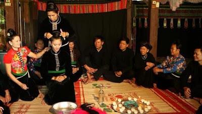 束发——西北黑泰妇女婚俗中的特殊仪式 - ảnh 1