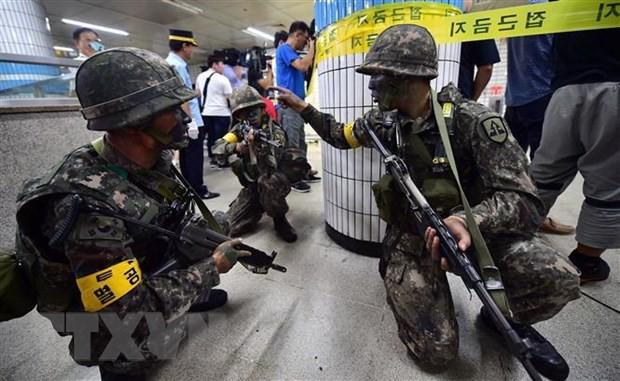 朝鲜谴责美国和韩国违反韩朝首脑会晤达成的协议 - ảnh 1