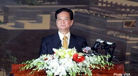Prime Minister Nguyen Tan Dung leaves for nuclear security summit - ảnh 1