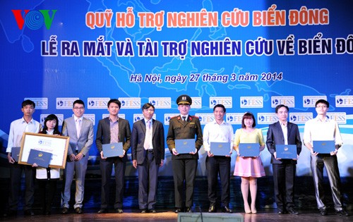 Research activities on the East Sea promoted - ảnh 1